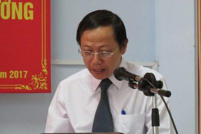 Công bố Quyết định bổ nhiệm lại Hiệu trưởng và bổ nhiệm mới Phó hiệu trưởng trường THPT Nguyễn Trãi